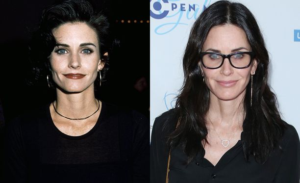 Courteney Cox eli Monica Geller.