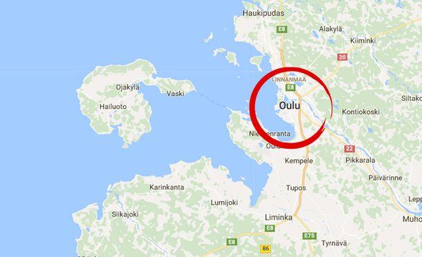 Poliisimies ampui aseistautunutta ihmistä kiinnioton yhteydessä Oulussa keskiviikkona.