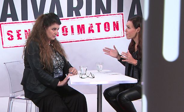 Riitta Väisänen ja Susanne Päivärinta keskustelivat intiimeistä vaivoista.