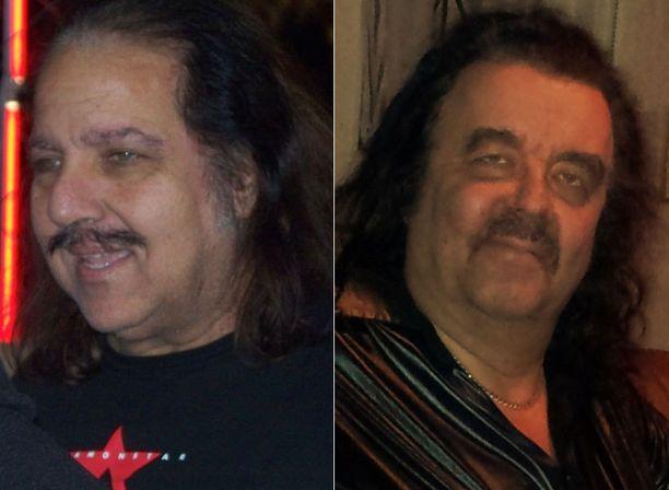 Risto Pieksämäeltä osallistui kisaan legendaarisen aikuisviihdetähden Ron Jeremyn (vasemmalla) kaksosena.