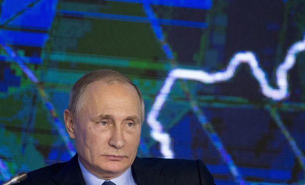 Venäjän presidentti Vladimir Putin vierailee nyt Berliinissä ensi kertaa Krimin valtauksen jälkeen.