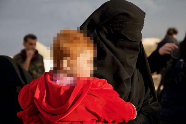 Siviilejä vietiin helmikuussa al-Holin leirille.