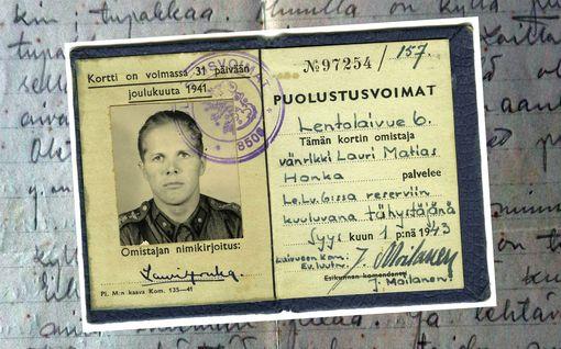 """Luutnantti-Laurin päiväkirjat paljastavat, miten rintamalla rilluteltiin: """"Hyvän humalanpa sain, naisten luona Erkan kanssa..."""""""