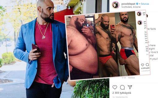 """Miehen paino tippui 150 kiloa – yksi sääntö osoittautui uskomattoman tehokkaaksi: """"En halunnut kuolla"""""""
