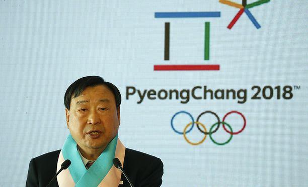 Pyeongchangin olympialaisten järjestelytoimikunnan puheenjohtaja Lee Hee-Beom on sanonut, ettei b-suunnitelmaa ole.