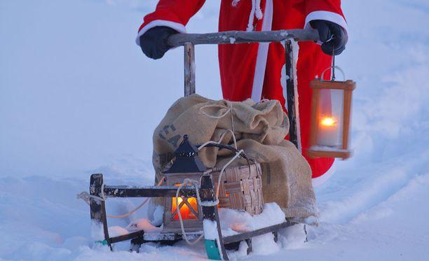 Hajamielisyys yllätti Joulupukin.