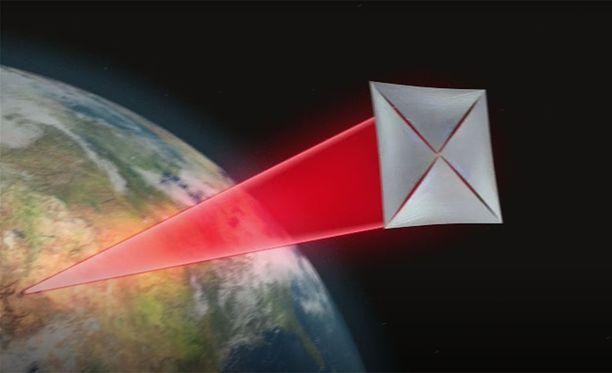 Lasersäteet voisivat laskelmien mukaan kiihdyttää luotaimen vauhdin viidesosaan valonnopeudesta.