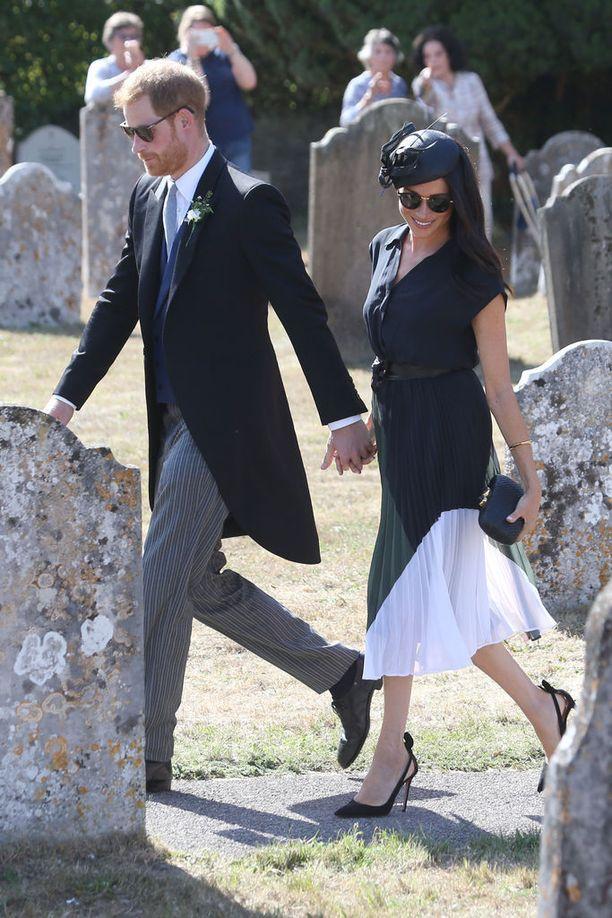 Herttuatar juhli syntymäpäiväänsä viikonloppuna prinssi Harryn parhaan ystävän häissä.