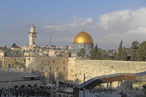 Kiista Jerusalemista on keskeinen kysymys Israelin ja Palestiinan välisessä rauhanprosessissa.