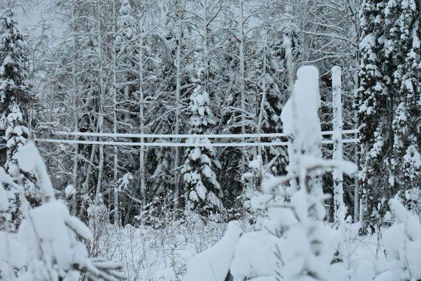 Kainuussa on taisteltu sääolosuhteiden kanssa jo viikon ajan.