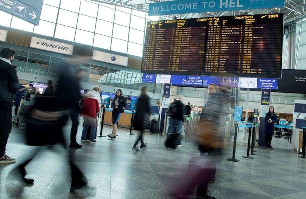 Finnair peruu lukuisia lentoja maaliskuun lopulla.