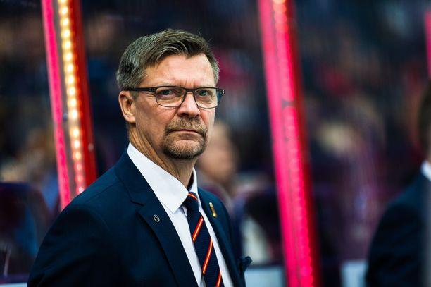 Päävalmentaja Jukka Jalonen uskoo, että muutaman vuoden kuluttua Leijonilla on todella kovatasoinen puolustus.