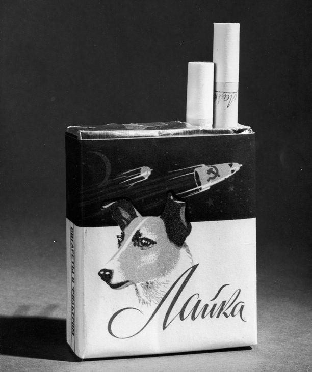 Laika sai myös oman savukemerkkinsä.