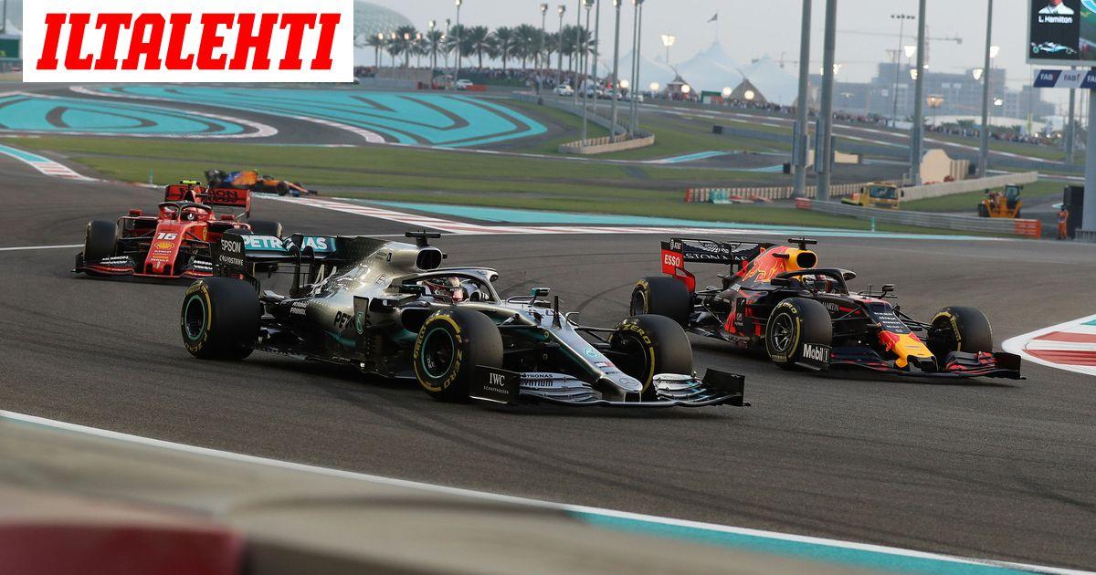 F1 Kalenteri 2021