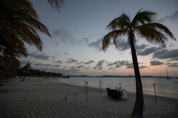 Jumby Bay on todellinen paratiisisaari.