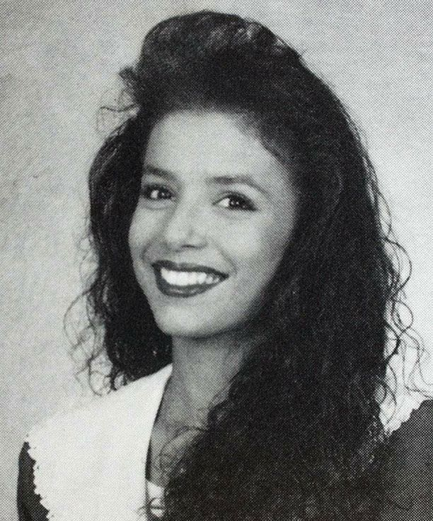 Eva Longoria, 1993. Roy Miller High School, Corpus Christi, Texas.