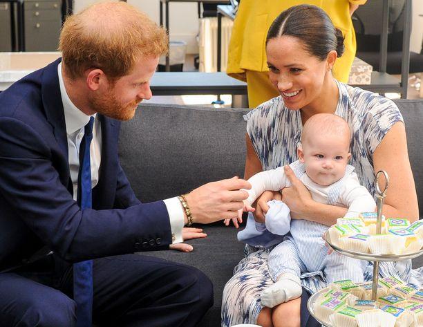 Archielle on auennut uusi makumaailma kiinteiden ruokien myötä. Kuva syyskuulta Etelä-Afrikasta.