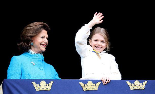 Prinsessa Estelle menee esikouluun syksyllä.
