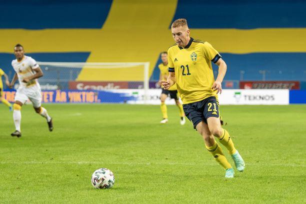 Dejan Kulusevski on yksi Ruotsin lupaavimmista jalkapalloilijoista.