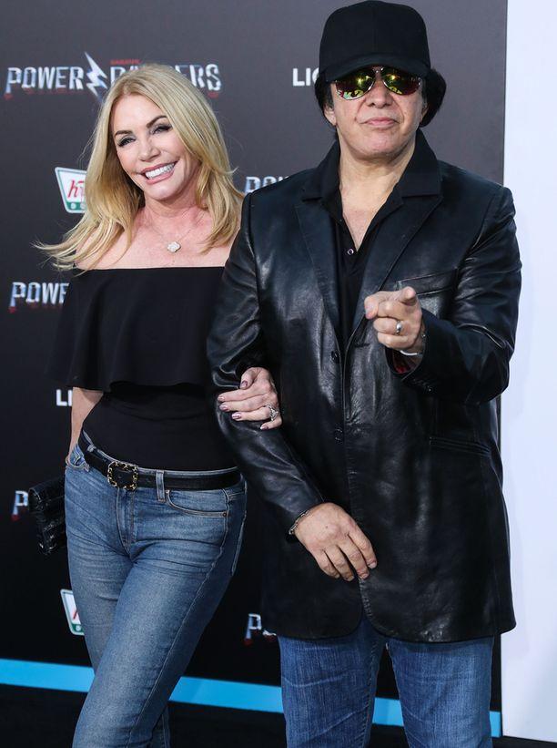 Shannon Tweed,60, ja Gene Simmons,67, ovat olleet jo 28 vuotta yhdessä.