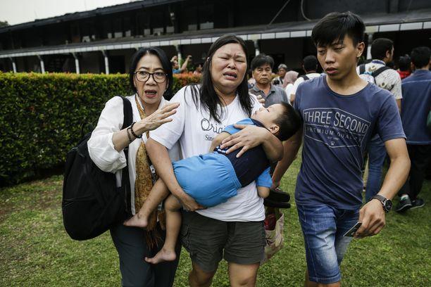 Indonesian lentoturmassa kuoli 189 ihmistä.