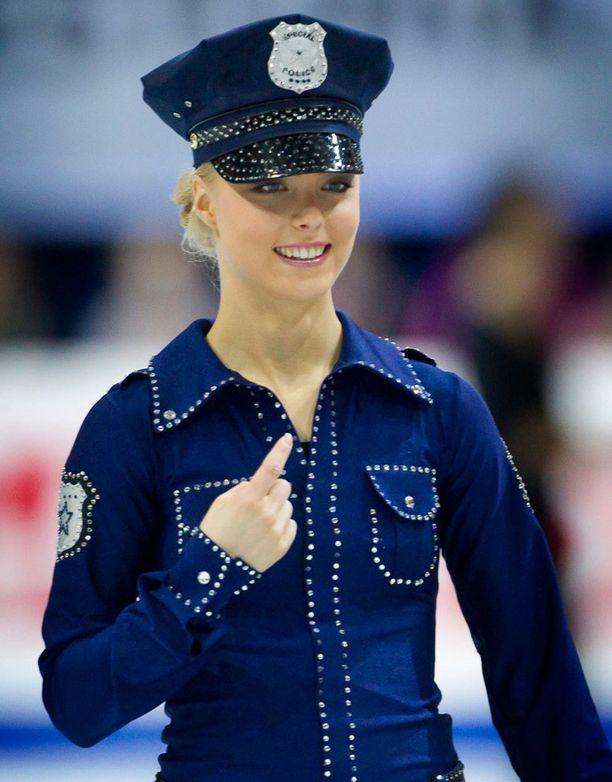 Taitoluistelun EM-kilpailut Tallinnassa 2010, loppunäytös.