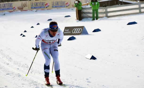 Ristomatti Hakola oli kahdestoista Tour de Skin toisella etapilla.