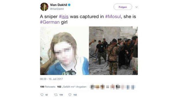 Lindan kerrotaan toimineen Isisn tarkka-ampujana.