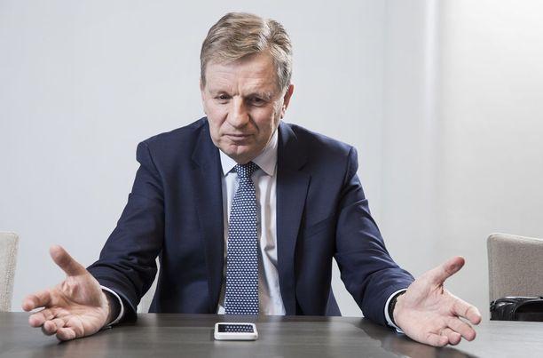 Esko Ahon konsulttiyhtiö Verbatum teki viime vuonna yli puolen miljoonan euron liikevaihdon.