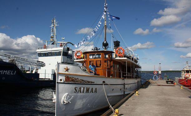 Laivan omistaa Liikennevirasto. Koko kansan nähtävillä S/S Saimaa on muun muassa vuosittaisessa Höyrylaivaregatassa.