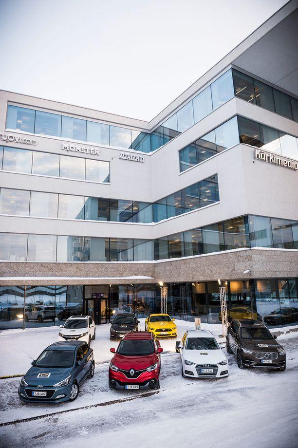 Tilaisuus pidettiin Alma-talolla Helsingissä.