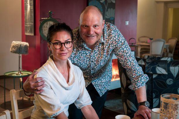 Kalle ja Riina-Maija Palander antoivat haastattelun kesällä Ontikan kartanossa.