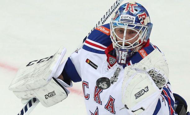 Mikko Koskinen torjui SKA:n maalilla 27 laukausta, kun SKA kaatoi ZSKA:n Moskovassa 5-2.