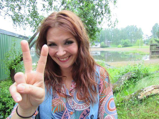 Irina tulkitsi Muska Babitzinin roolin uudessa Kirka-musikaalissa.