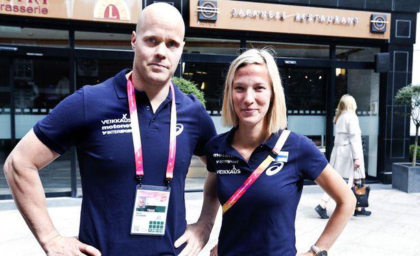 David Söderbergin ja Camilla Richardssonin yhteistyö on kestänyt vajaat kaksi vuotta.
