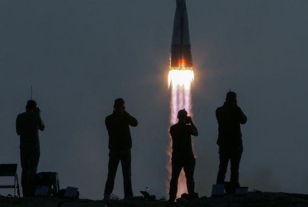 Venäjä alkaa kehittää uutta superrakettia. Kuvassa Soyuz MS-01 -avaruusalus lähdössä Kazakstanista heinäkuussa 2016.