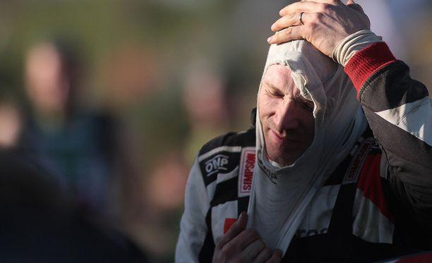 Jari-Matti Latvalan urakka Korsikalla alkoi vaikeasti.