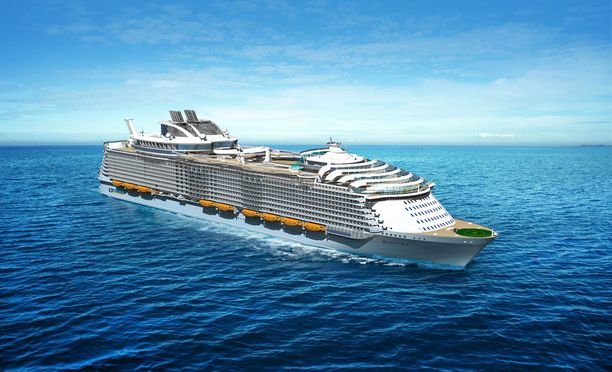 Harmony of the Seas kulkee ensi kesänä Välimeren vesillä.