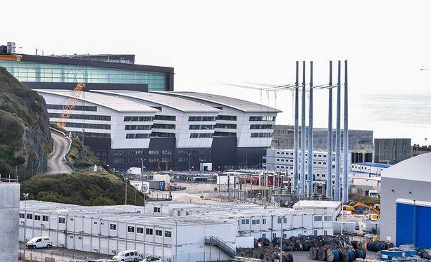 Flamanvillen ydinvoimalaitos sijaitsee Luoteis-Ranskassa.