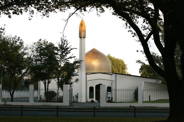 Toinen Christchurchin iskun kohteista oli kuvan Masjid al-Noorin moskeija.
