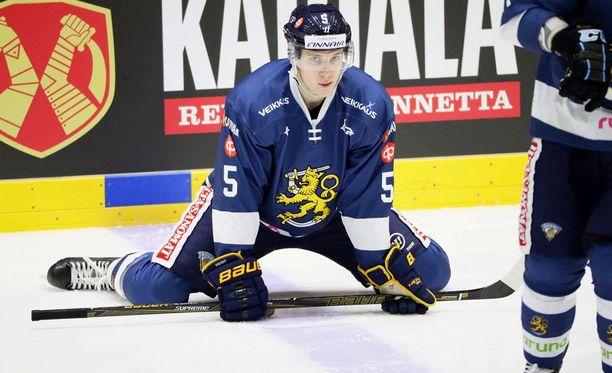 Sportissa ihastuttanut Miika Koivisto pelaa ensi kaudella Kärpissä.