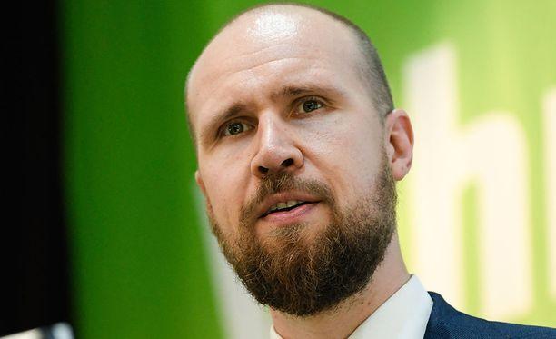 Vihreiden uusi puheenjohtaja Touko Aalto, 33, oli naimisissa Johanna Pietiläisen kanssa kaksi vuotta.
