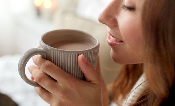 Paras vaikutus suklaasta saadaan epäilemättä silloin, kun sitä nautitaan hyvillä mielin.