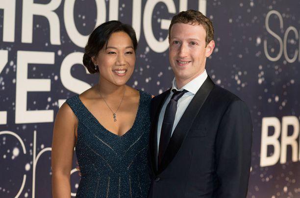 Mark Zuckerberg on ollut naimisissa Priscilla Chanin kanssa vuodesta 2012.