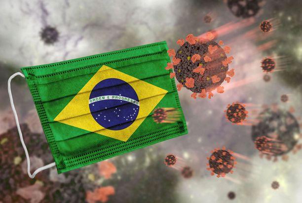 Suomessa on todettu yksi koronavirus tapaus, jossa on ollut kyseessä Brasilian muuntovirus. Kuvituskuva.