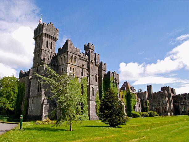 Ashford Castleen tehtiin juuri mittava remontti.
