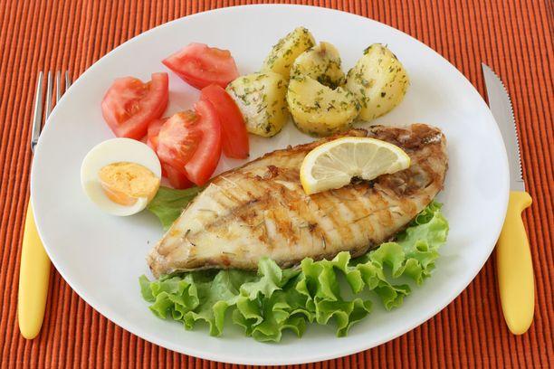 Kalaa on hyvä syödä pari kertaa viikossa.