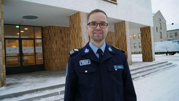 Rikoskomisario Jan Fordellin mukaan lappilaisten ei tarvitse pelätä turvallisuutensa puolesta.