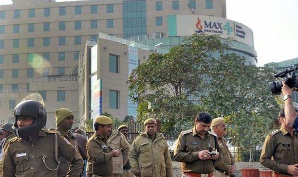 Max Hsopital on kallis yksityissairaala Delhissä