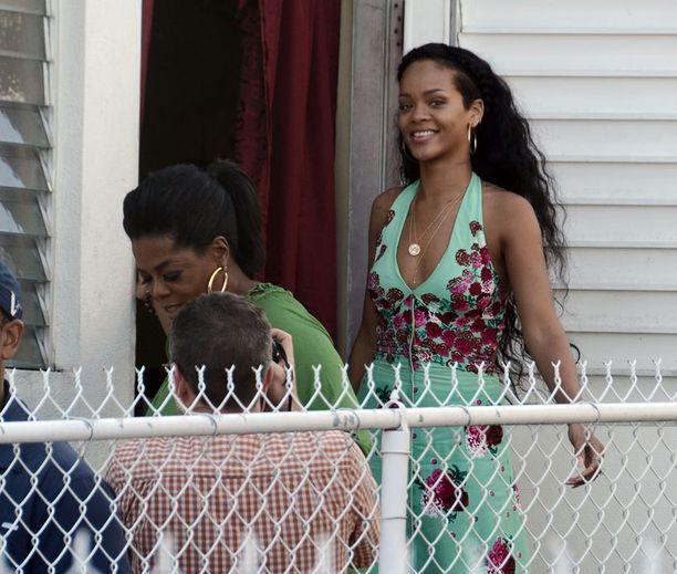 Rihannan ja Oprahin tapaamisessa tähden kotimaassa Barbadoksella oli iloisempiakin hetkiä.